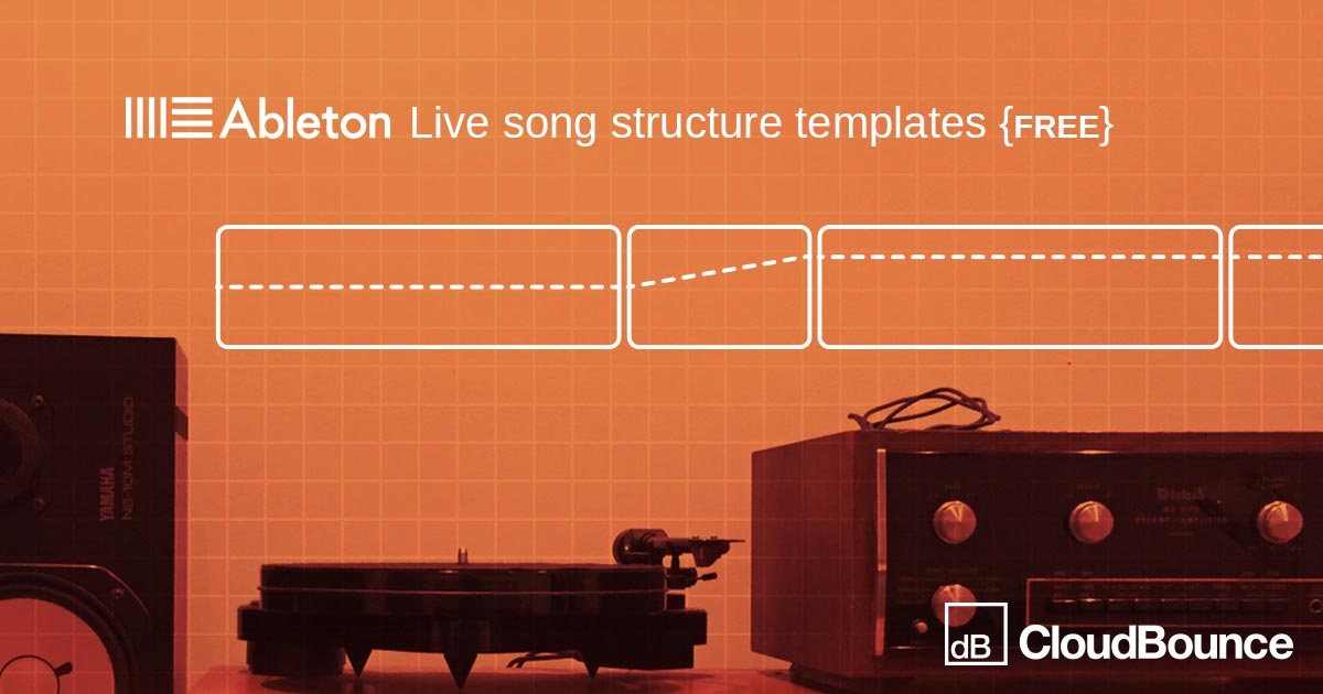 Ableton Live Templates Free   Cloudbounce Instant Audio Mastering Just Hear It